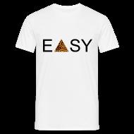 T-Shirts ~ Männer T-Shirt ~ EASY Blck'n'Leopard