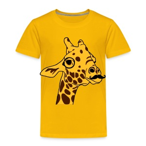 Hipster Giraffe T-Shirt for kids - T-shirt Premium Enfant