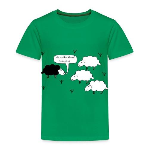 Schwarzes Scharf - Kinder Premium T-Shirt