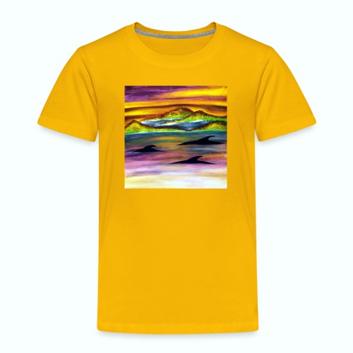 Delfine - Kinder Premium T-Shirt