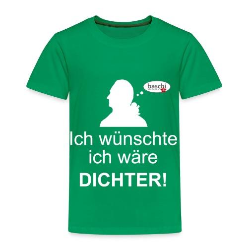 Kinder Ich wünschte ich wäre DICHTER - Kinder Premium T-Shirt
