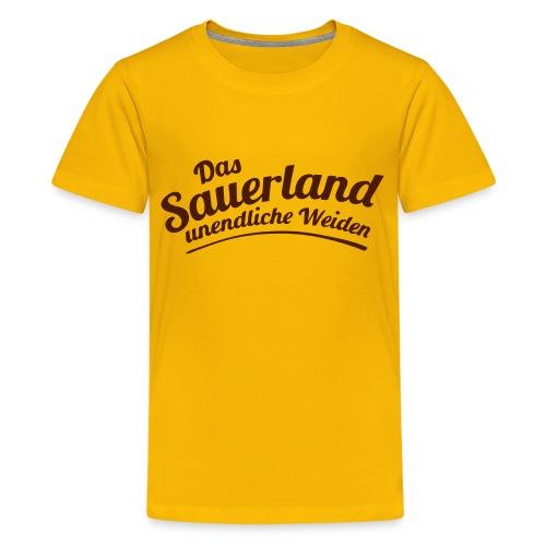 Weideland - Teenager Premium T-Shirt