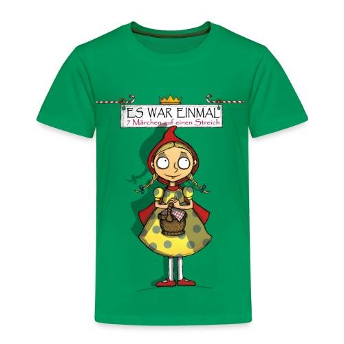 ES WAR EINMAL ... – Rotkäppchen - Kinder Premium T-Shirt