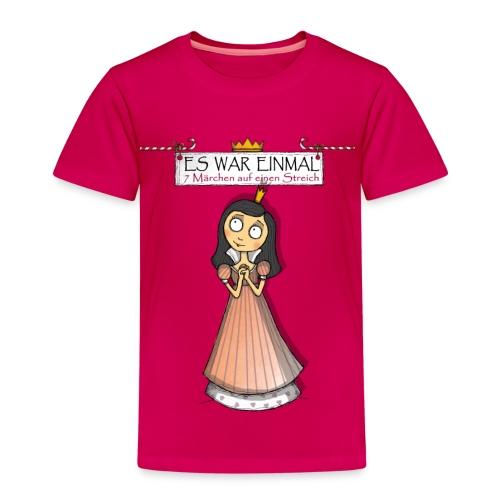 ES WAR EINMAL ... – Schneewittchen - Kinder Premium T-Shirt