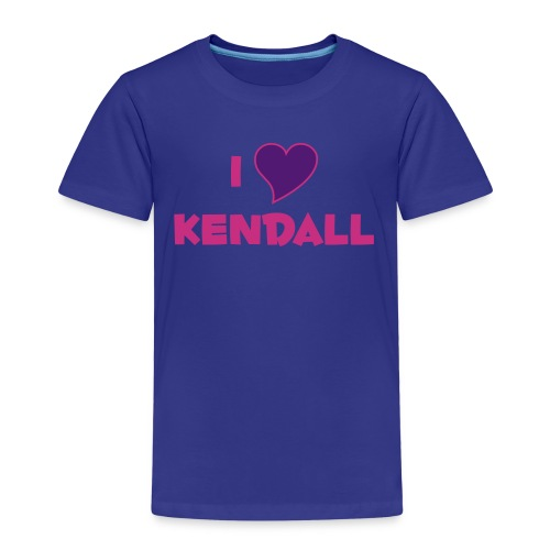 I LOVE KENDALL - Kids' Premium T-Shirt