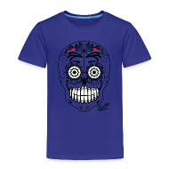 Shirts ~ Kids' Premium T-Shirt ~ SKULL W SIG