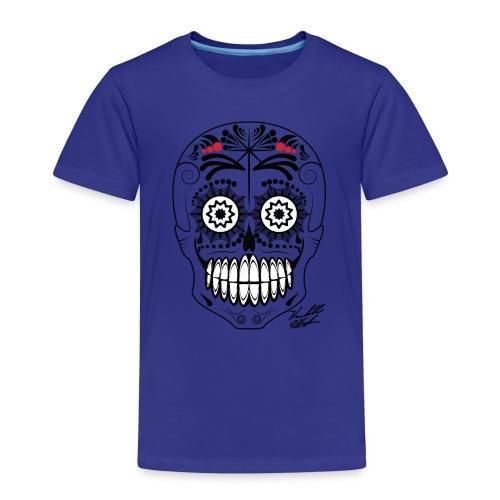 SKULL W SIG - Kids' Premium T-Shirt
