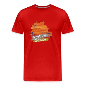 Berlin Beach | T-Shirt | Men - Männer Premium T-Shirt