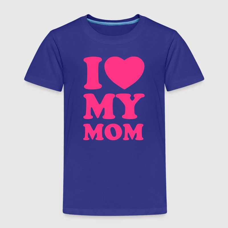 I love my mom Shirts - Kids' Premium T-Shirt