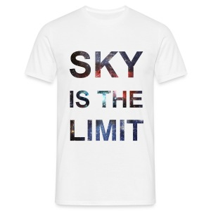 SKY IS THE LIMIT - Männer T-Shirt