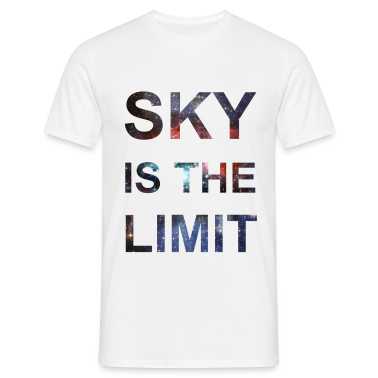SKY IS THE LIMIT T-Shirts, Hipster T-Shirt