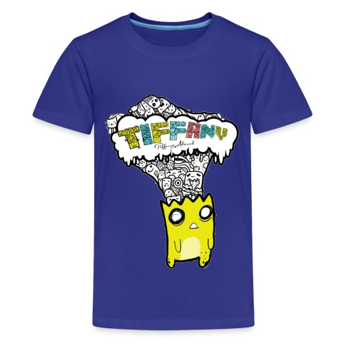 Tiffany Critter Head - Teenage Premium T-Shirt
