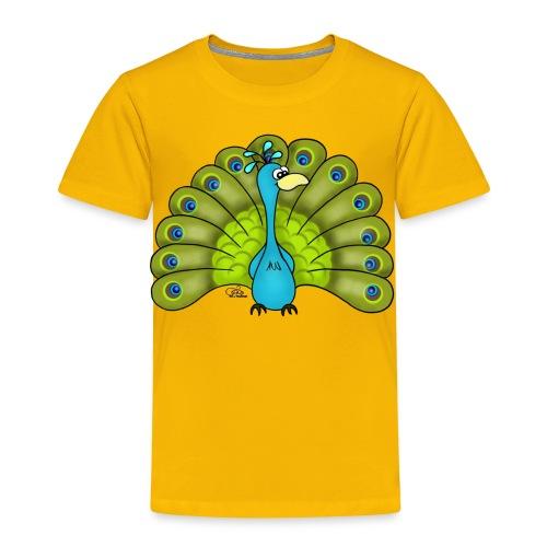 KinderShirt Pepe Pfau - Kinder Premium T-Shirt