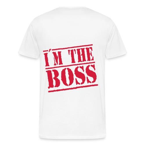 I'm the boss T-shirt - Men's Premium T-Shirt