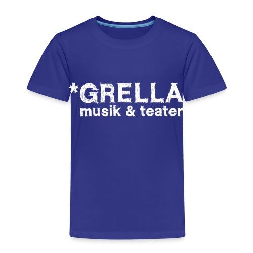 Grella musik & teater official kid-T - Kids' Premium T-Shirt