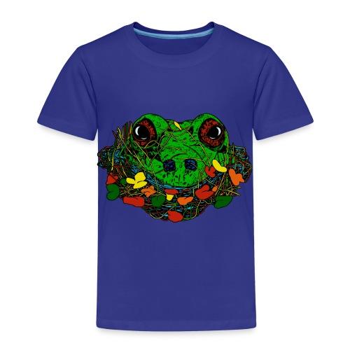 kinderen T-shirt met kikker - Kinderen Premium T-shirt