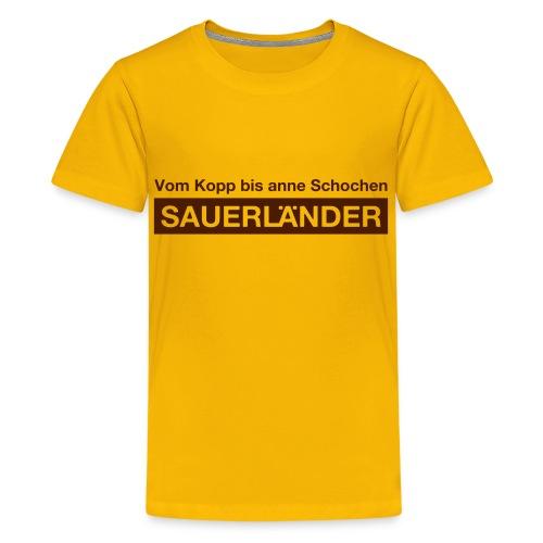 Sauerländer - Teenager Premium T-Shirt