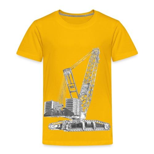 Crawler Crane 750t - Kids' Premium T-Shirt