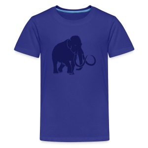 tier t-shirt mammut mammoth steinzeit jäger höhle elefant outdoor - Teenager Premium T-Shirt