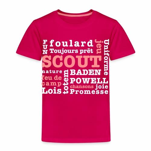 Mots Scouts - T-shirt Premium Enfant
