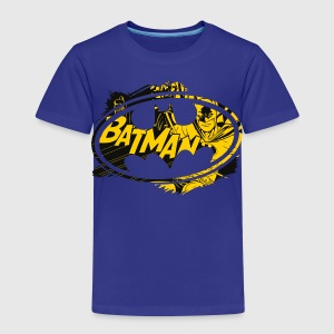 Batman logo gul T-skjorte for barn - Premium T-skjorte for barn