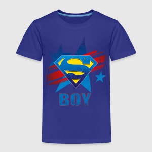 Superman S-Shield Boy Kinder T-Shirt - Kinderen Premium T-shirt