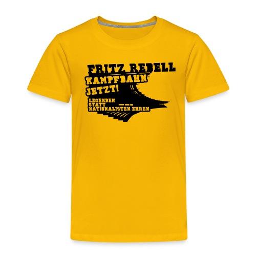 Fritz Rebell Kampfbahn [infantil] - Kinder Premium T-Shirt