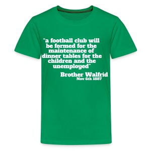 Brother Walfrid - Teenage Premium T-Shirt