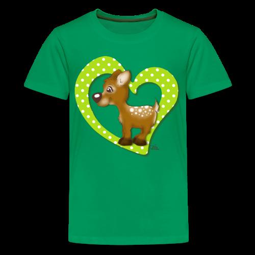TeenieShirt Kira Kitzi Äpfelchen - Teenager Premium T-Shirt