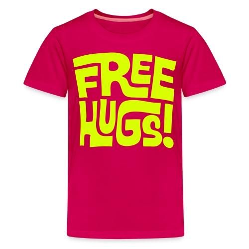 Free Hugs T-Shirt - Teenage Premium T-Shirt