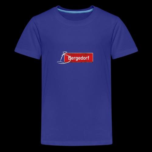 Hamburg-Bergedorf mit Schmuck-Initial - Teenager Premium T-Shirt