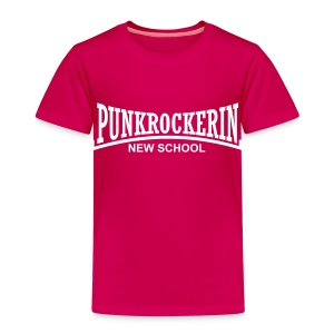 New School Punkrockerin - Kinder Premium T-Shirt