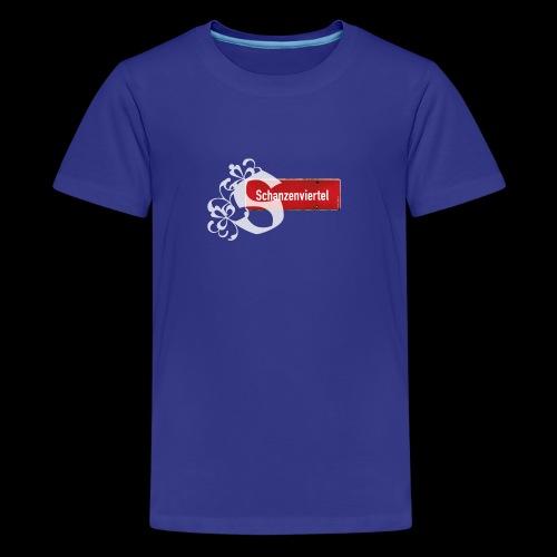 Romantik-Teen-Shirt Schanzenviertel - Teenager Premium T-Shirt