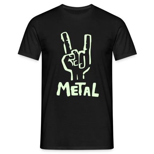 Metal Horns - Camiseta hombre