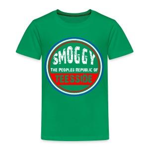 Kids Smoggy T-Shirt - Green - Kids' Premium T-Shirt