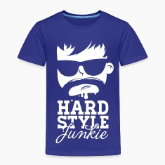 i love hardstyle dubstep moustache dance music Shirts