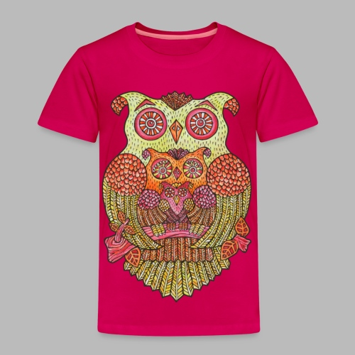 OWL FAMILY ----------- (2yrs-8yrs) - Kids' Premium T-Shirt