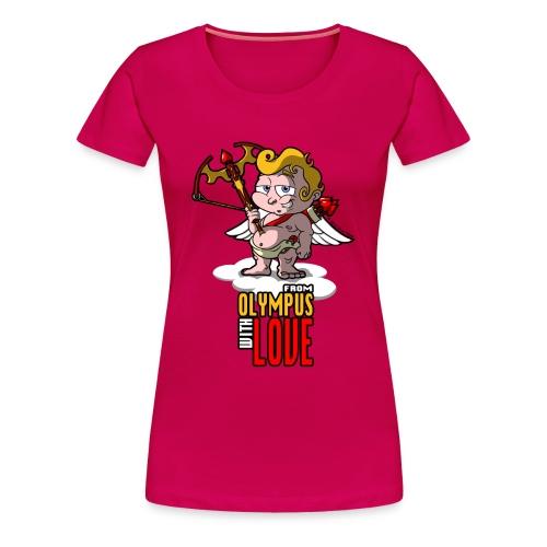 Cupid: Agent Valentine-Grin - Women's Premium T-Shirt