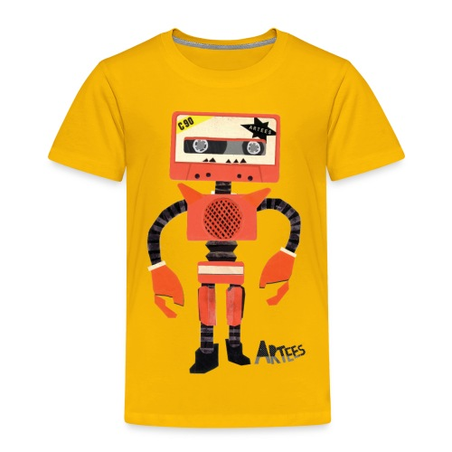 Orange Tape Robo - Kinderen Premium T-shirt