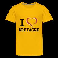 Tee shirts ~ T-shirt Premium Ado ~ Tee shirt Ado i love bretagne