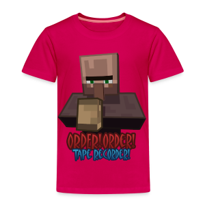 Order! Order! Tape Recorder - Kids' Premium T-Shirt