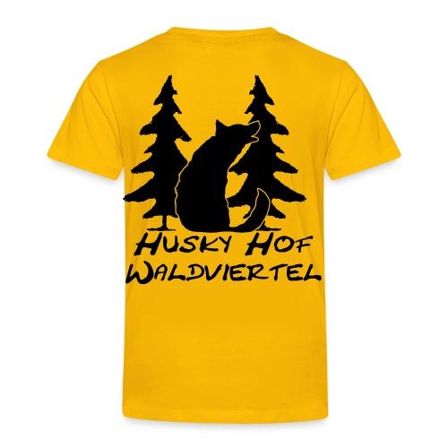 Huskyhof-Waldviertel T-Shirt - Kinder Premium T-Shirt