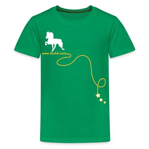 Kindershirt Rock'n'Tölt - Teenager Premium T-Shirt