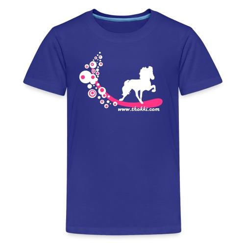 Kindershirt Bubbletölter - Teenager Premium T-Shirt