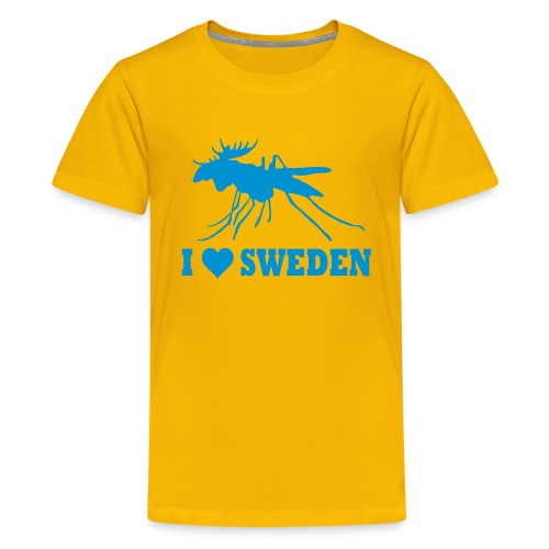 I love Sweden - Teenager Premium T-Shirt