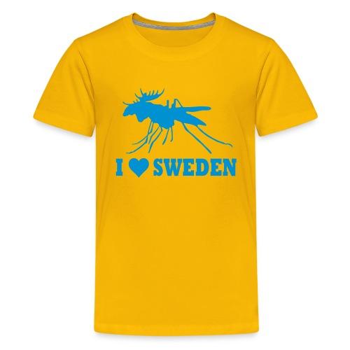 I love Sweden - Teenager Premium T-Shirt