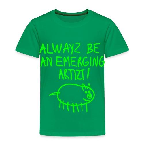 Emerging Artizt - Maglietta Premium per bambini