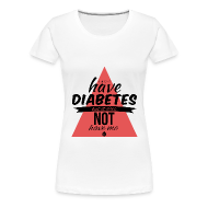 T-Shirts ~ Women's Premium T-Shirt ~ Just saying