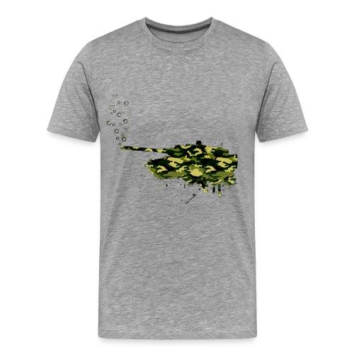 soap bubbles splash tank - Wood Camo - Männer Premium T-Shirt