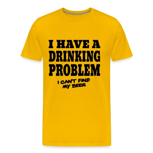 Drinking Problem - Lost Beer - Men's Premium T-Shirt